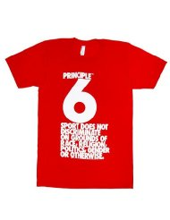 American Apparel Principle 6 Fine Jersey Short Sleeve T-Shirt